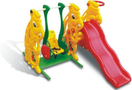 Rabbit Slide, Ladybug Swing & Basketball