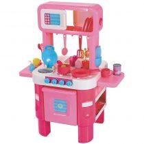 elc little-cook-s-kitchen-set-pink 2
