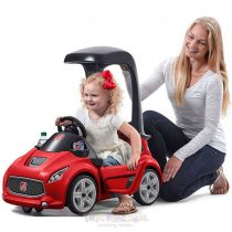 Step2 Turbo Coupe Foot-to-Floor Ride-On Car red 2