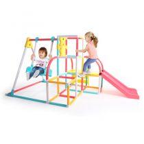 4-in-1 Climb N Slide Swing Set 7